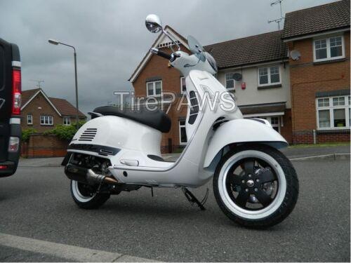 "18/"" Motorcycle Wide White tire sideWalls Portawalls Sidewall  trim set of 4pcs"