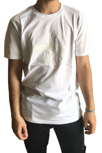 Fine Moda Manica Logo Corta shirt Serie Schiuma Island Con T Uomo Stone gZqW4ppw