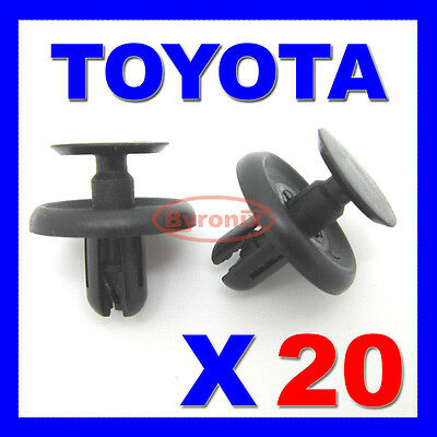 10Pcs Car Engine Cover Wheel Arch Inner Liner Mud Flaps Fender Screws Retainers