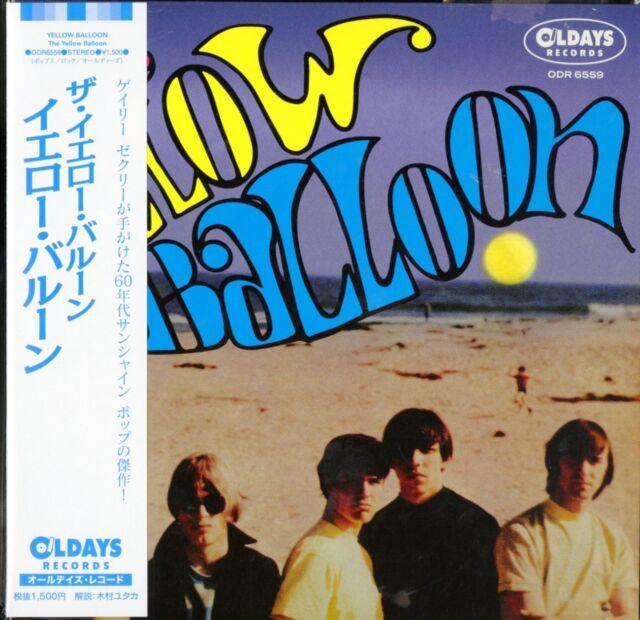 YELLOW BALLOON-THE YELLOW BALLOON-JAPAN MINI LP CD BONUS TRACK C94