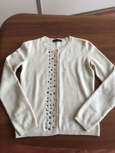 Cashmere Sweater Superb Fabiana Størrelse Autentisk Cardigan Filippi s 42 qIgtHWwFWP