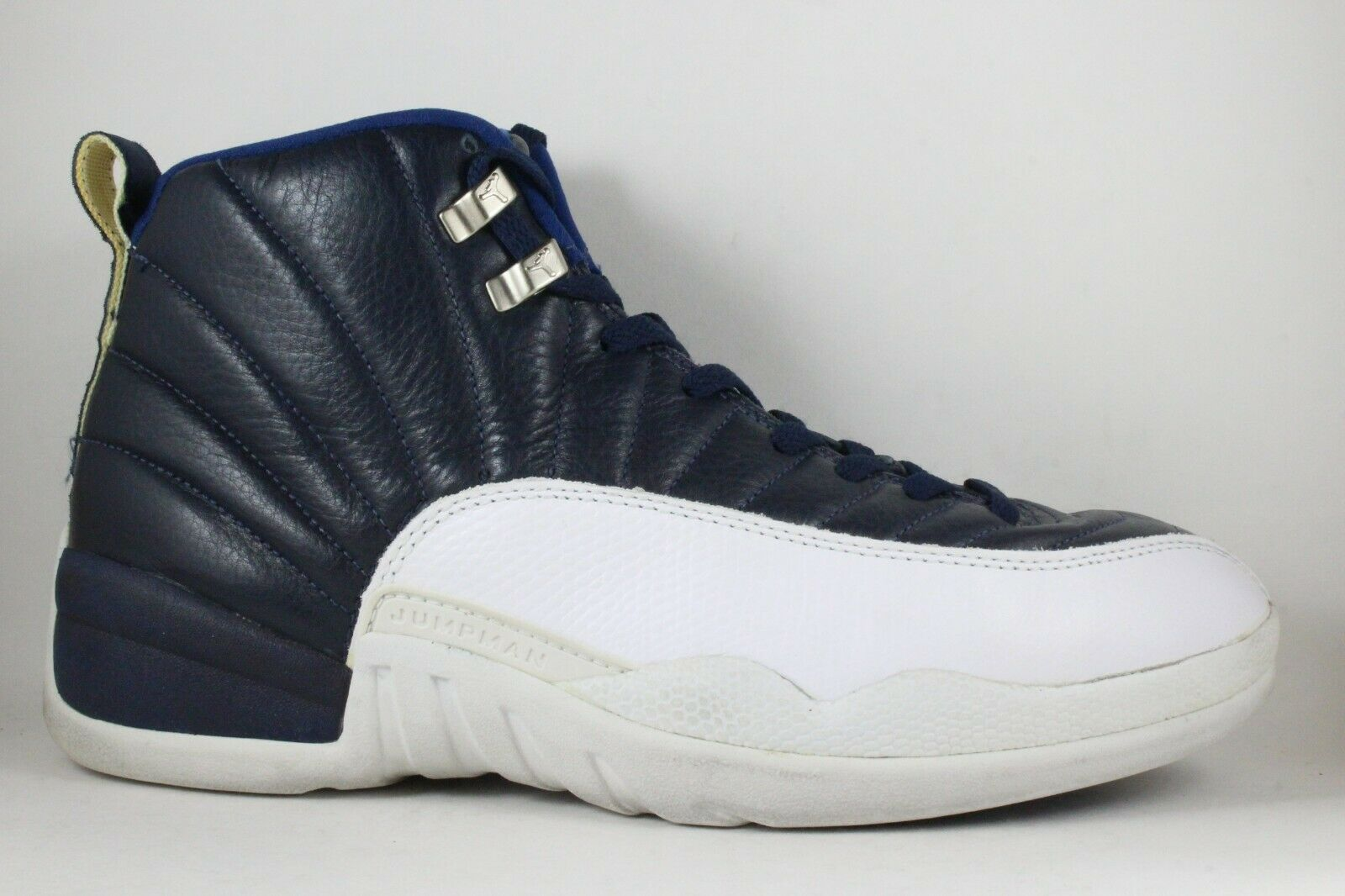 f5aba0f92c9 1997 Nike Air Jordan 12 Retro Obsidian bluee White size 10.5 OG XII ...