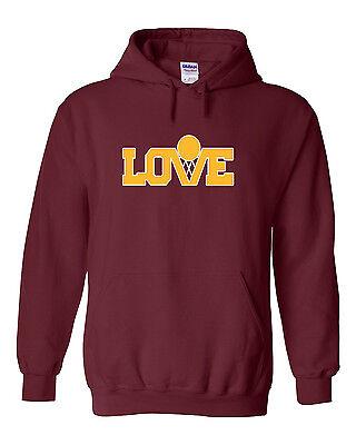 "Kevin Love Cleveland Cavliers /""Austin 3:16/"" jersey Hooded SWEATSHIRT HOODIE"