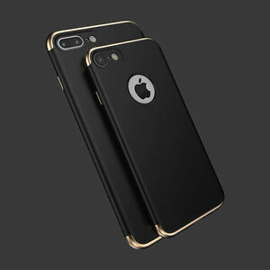 BLACK-GOLD-SHOCKPROOF-SKIN-CASE-COVER-FOR-APPLE-IPHONE-7-MOBILE-PHONES