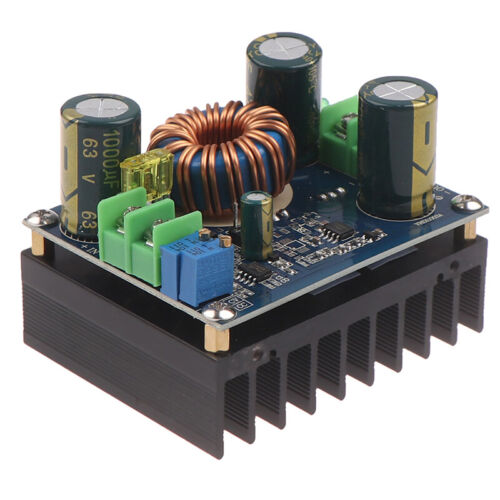 600W DC-DC 10-60V to 12-80V Boost Converter Step-up Module Car High Power Sup H5