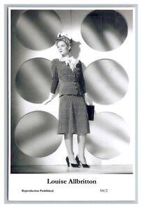Louise-Allbritton-c-Swiftsure-Postcard-year-2000-modern-print-54-2-glamour-photo