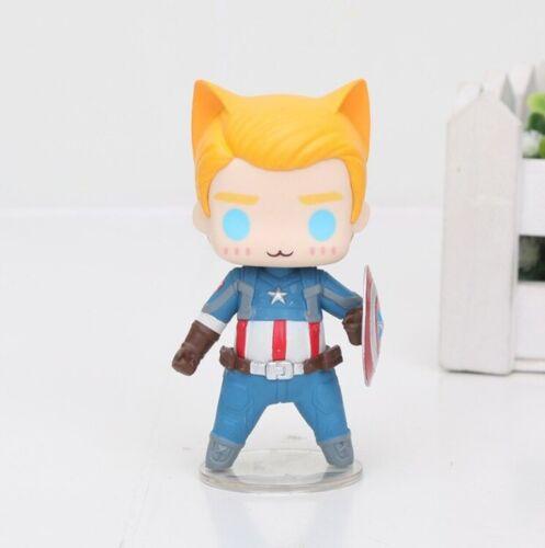Avengers Cat figures action figurines MARVEL Superheroes CAT Version toy