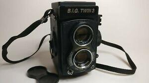6x6 Doppeläugige Mittelformat Kamera B.I.G. TWIN3, TOP-ZUSTAND