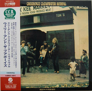 CREEDENCE-CLEARWATER-REVIVAL-Willy-And-The-Poor-Boys-CD-MINI-LP