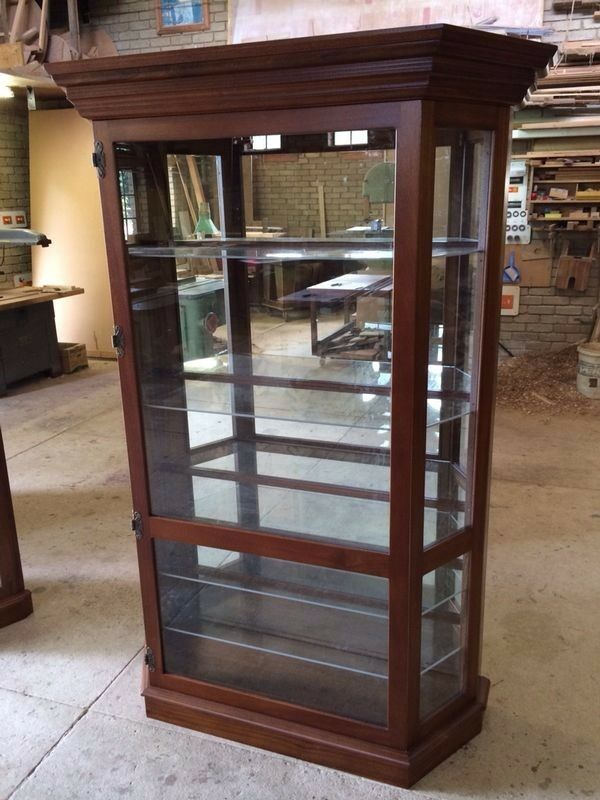Display Cabinet Wooden Glass Display With Led Lights And Glass Shelves Dust Free Fourways Gumtree Classifieds South Africa 213209032
