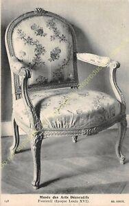 Postcard-Arts-Decorative-Chair-Furniture-Period-Louis-XVI-Edit-ND-148