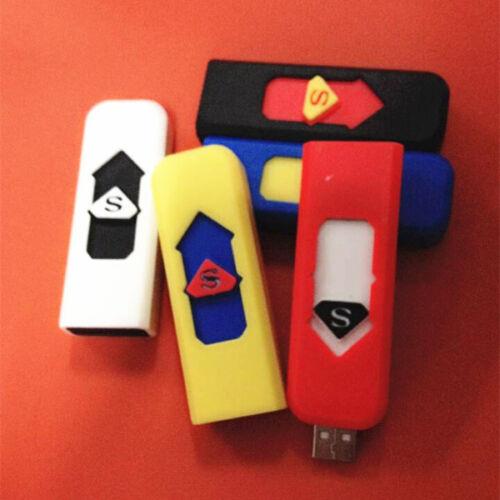 USB электронная зажигалка сигарета перезаряжаемая беспламенная ветрозащитная  | eBay