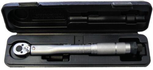 """Automatischer Drehmomentschlüssel 1//4/"""" Zoll  2-24 NM Knackschlüssel Torque"""