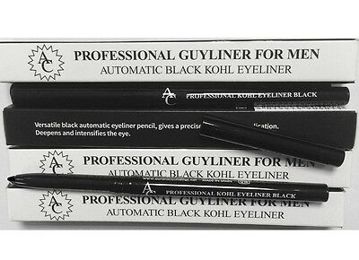 Professional Automatic Kohl Guyliner For Men Black Twist up!