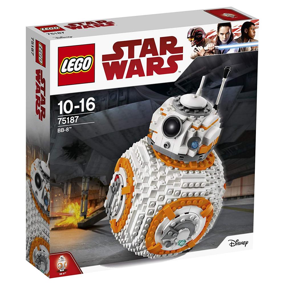 LEGO 75187 Star Wars Jedi l'ultimo Bb-8 Robot giocattolo, COLLECTOR'S MODELLISMO se