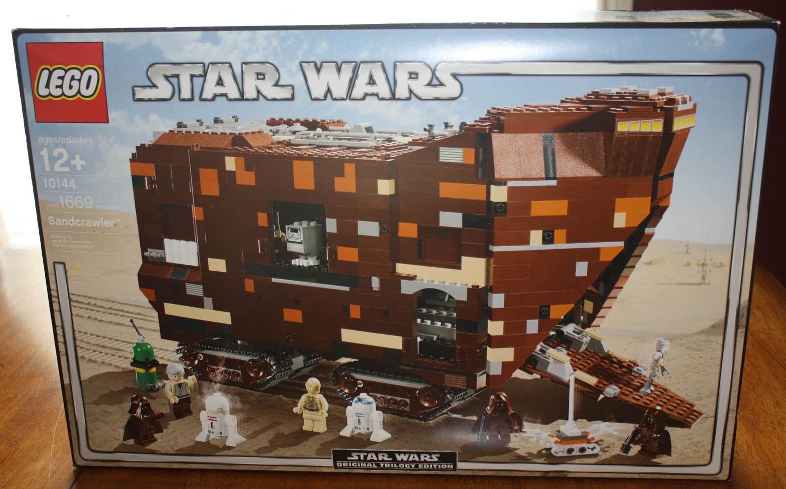 Lego Star Wars 10144 Sandcrawler Nuevo Sellado