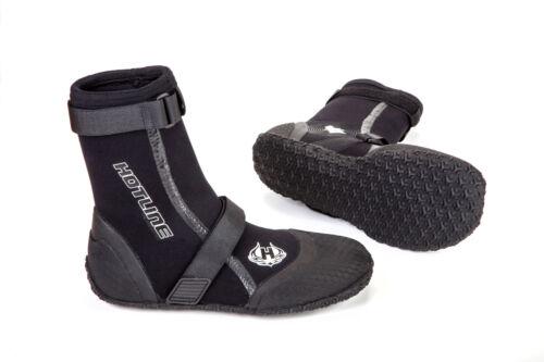 Hotline Reflex Split Tow 3mm Surf Wetsuit Men/'s Black Booties Boots All Sizes