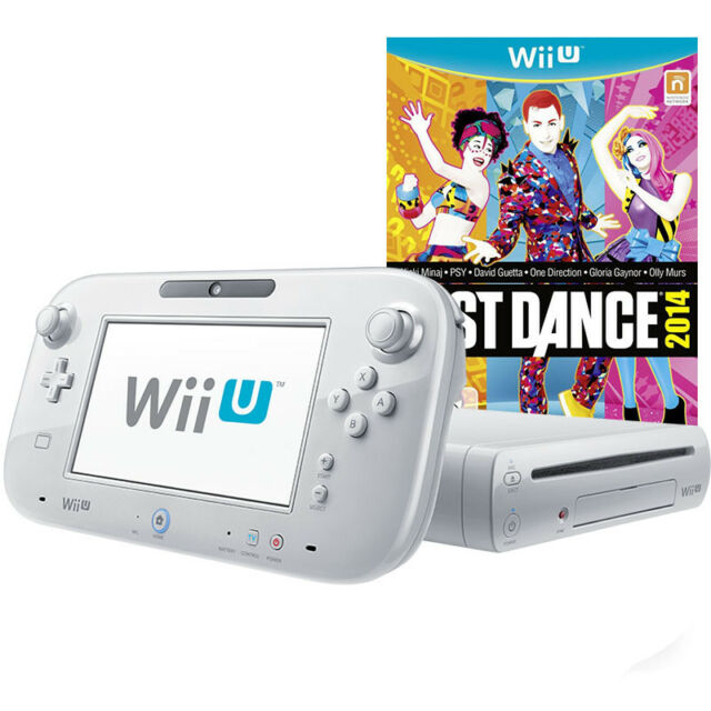 Nintendo Wii U Konsole 8GB weiß + Just Dance 2014