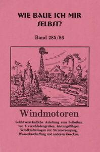 WINDMOTOREN-5-verschiedengrosse-Windkraftanlagen-zur-Stromerzeugung-Heft-NEU