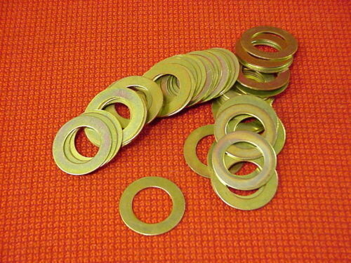 "3//4/"" Steel Flat Shim Washer 50 Pieces Washer Shim Flat 1.252 Od"
