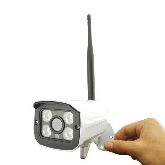 HJT Audio Wireless IP Camera 720P Outdoor AP Mode 4 IR Network P2P 16GB TF Card