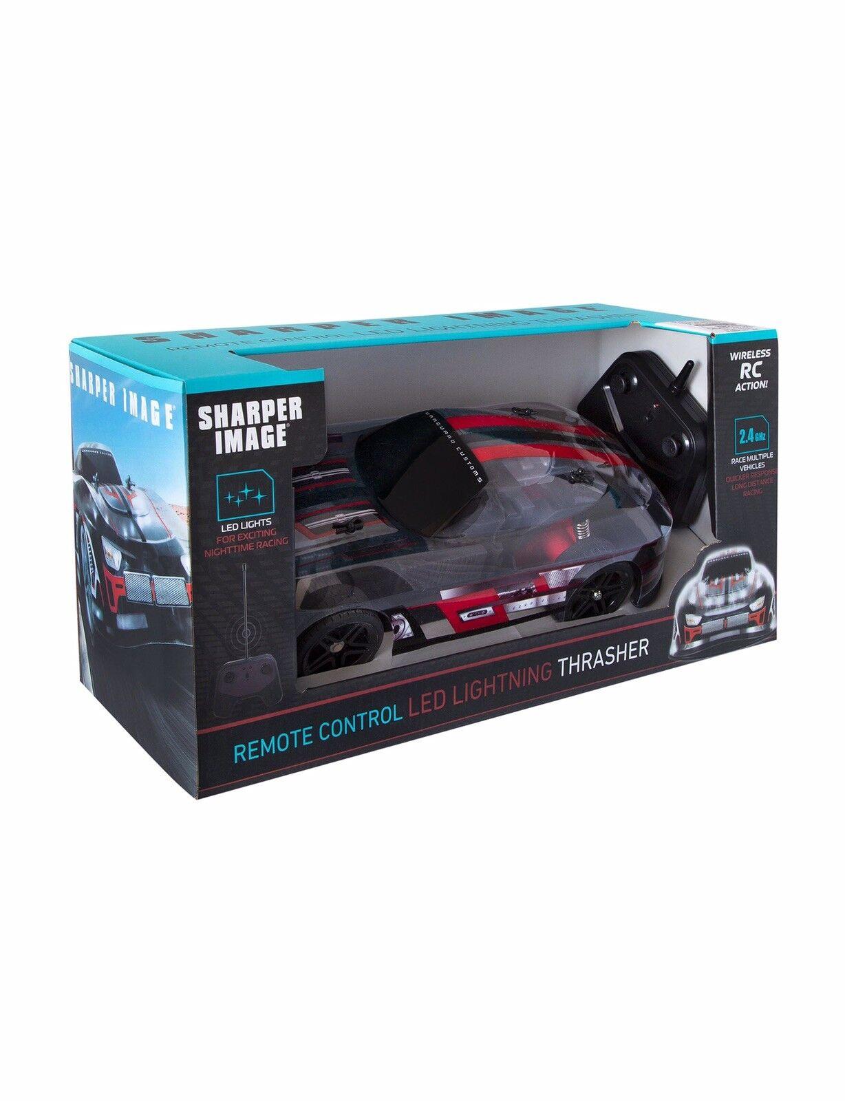Sharper Image RC LED Lightning Thrasher Car