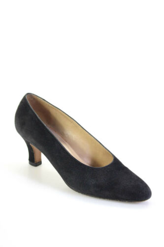 Gucci Womens Suede Vintage Almond Toe Classic Pump