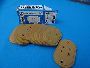 Marklin-7251-Base-Plate-for-bridges-amp-Ramps-set-of-10-Pcs