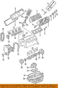 gm oem engine cylinder head gasket 12589907 ebay 2000 mitsubishi galant head gasket image is loading gm oem engine cylinder head gasket 12589907