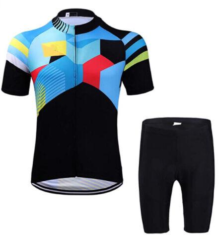 Details about  /Man Jersey Set 21 Mesh Pant Short Sleeve Cycling Trousers show original title