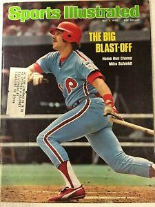 1976-Sports-Illustrated-Magazine-May-Baseball-Home-Run-Champ-Mike-Schmidt