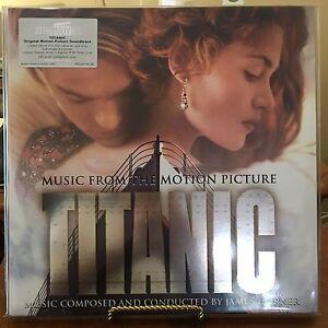 TITANIC-Original-Motion-Picture-Soundtrack-James-Horner-2-GOLD-Vinyl-LPs-2016