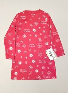db8af5b655 Hatley Falling To Sleep Snowflakes Kids Sleep Shirt Night Gown Size ...