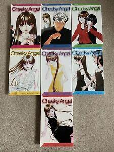Lot-of-7-Cheeky-Angel-vol-1-2-4-8-Manga-Graphic-Novel-Book-Lot-English-VIZ