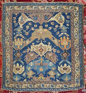 antiker-Orientteppich-kaukas-Shirvan-Bidjov-85x89-antique-caucasian-rug-tappeto