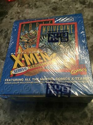 1993 X Men Series 2 Marvel Universe Trading Cards 36CT SEALED Skybox