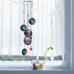 """17"""" Tree of Life Wind Chimes Metal Hanging Ornament Garden Patio Home Xmas"""