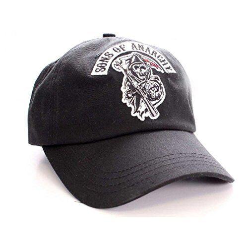 5629589747a Sons of Anarchy SAMCRO Black Adjustable Baseball Cap for sale online ...