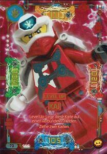 Level Up Nya 74 LEGO Ninjago Serie 5 NEXT LEVEL Level-Up-Karte