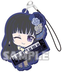 BanG Dream Roselia Rinko Shirokane Character Capsule Rubber Mascot Strap Vol.2