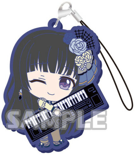 BanG Dream Roselia Shirokane Rinko Character Rubber Mascot Strap Collection V.2