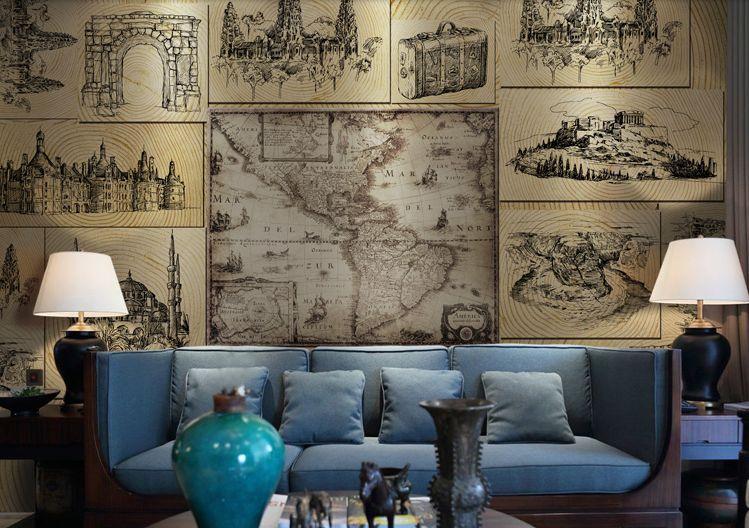 3D Sydney, Australia Wand Papier Wand Drucken Decal Wand Deco Innen Wand Murals