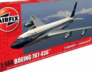 Airfix-Boeing-707-436-G-Apfo-Boac-1970-Vt-Djk-Everest-Air-India-1-144-Modello