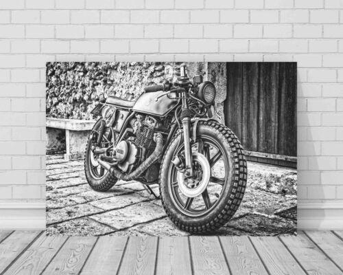 Supercool YAMAHA MOTO toile photo #138 encadrée Bike Wall Art 30X20 16X12