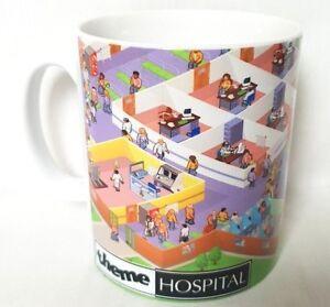 Thé Hospital Jeu Pc Afficher D'origine Détails Gaming Theme Thème Titre Le Sur Playstation Tasse Café wO8kn0P