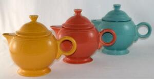 Fiesta-LARGE-44-oz-TEAPOT-Choice-of-Discontinued-or-Current-Colors