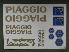 PIAGGIO VESPA STICKERS SET GOLD