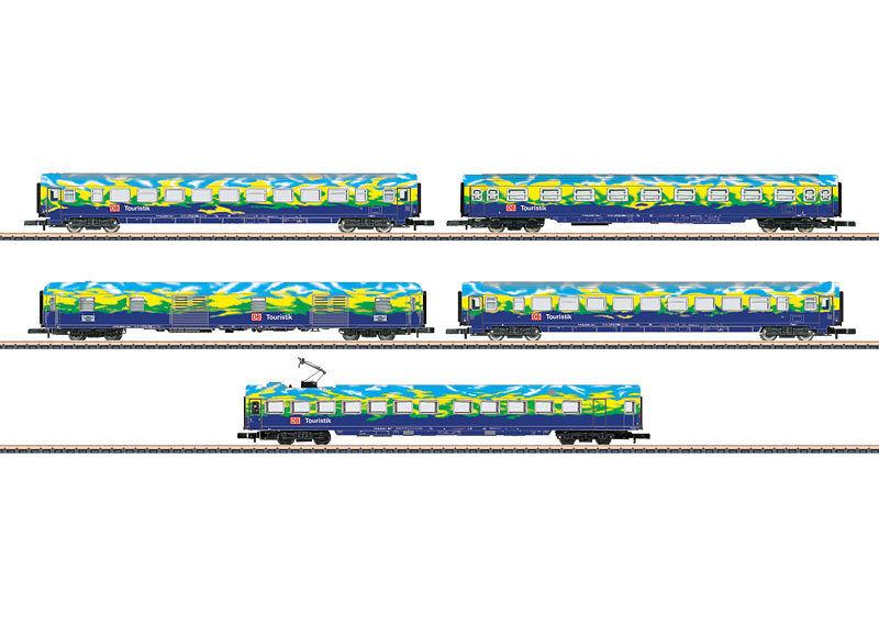 Märklin Märklin Märklin -Z- 87303 Personen-Wagenset Nr.2 5-tlg. Touristikzug DB-AG Ep5  | Fuxin  c26197
