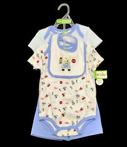 New Tags Baby Boy 6 9 Months Bodysuits Shorts Bib 4pc Set Oufits Clothes Lot Ebay