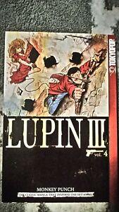 Lupin-III-the-3rd-Volume-4-Manga-Grapchic-Novel-Book-in-English